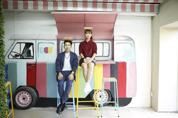 Cặp đôi Khởi My - Kelvin Khánh hát tiếng Hàn trong single chung 8