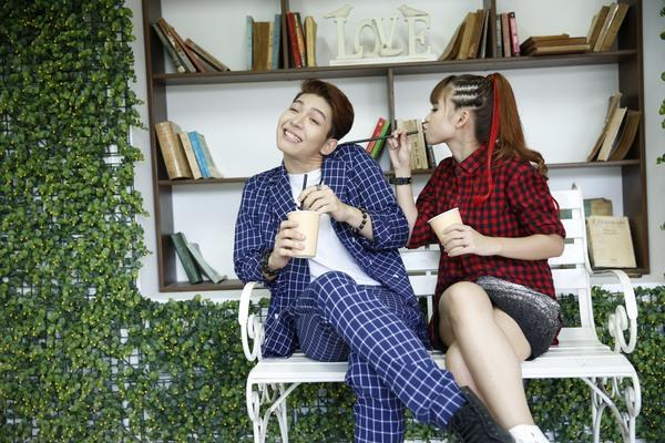 Cặp đôi Khởi My - Kelvin Khánh hát tiếng Hàn trong single chung 14