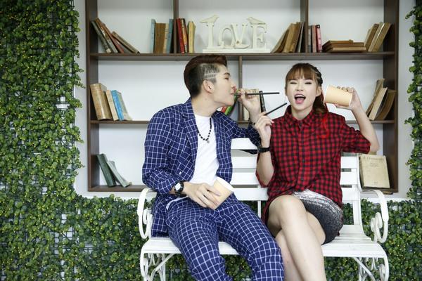 Cặp đôi Khởi My - Kelvin Khánh hát tiếng Hàn trong single chung 15