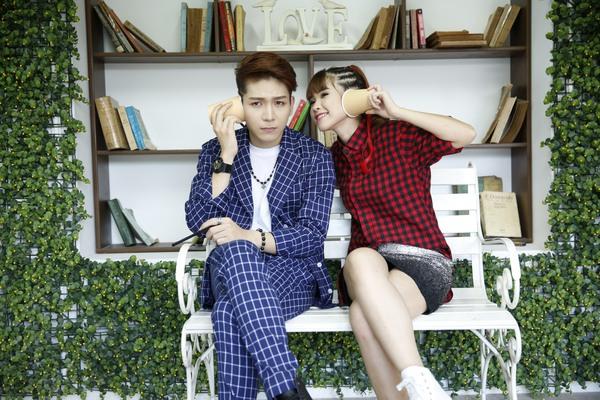 Cặp đôi Khởi My - Kelvin Khánh hát tiếng Hàn trong single chung 17