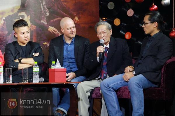 Thiện Thanh cùng bố đi ra mắt album, liveshow Ngũ Cung 5
