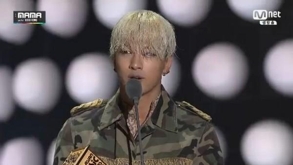 """Taeyang và EXO thống trị """"MAMA 2014"""" 56"""
