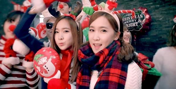 Tuyển tập các MV Giáng sinh gia đình của Kpop 12