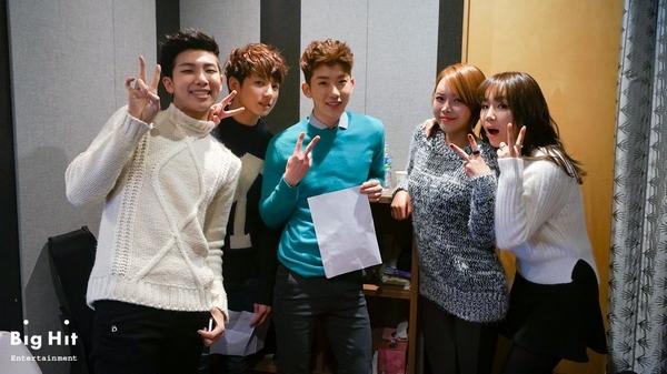 Tuyển tập các MV Giáng sinh gia đình của Kpop 9