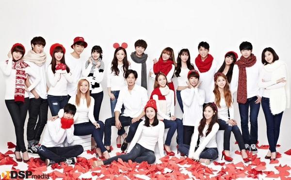 Tuyển tập các MV Giáng sinh gia đình của Kpop 14