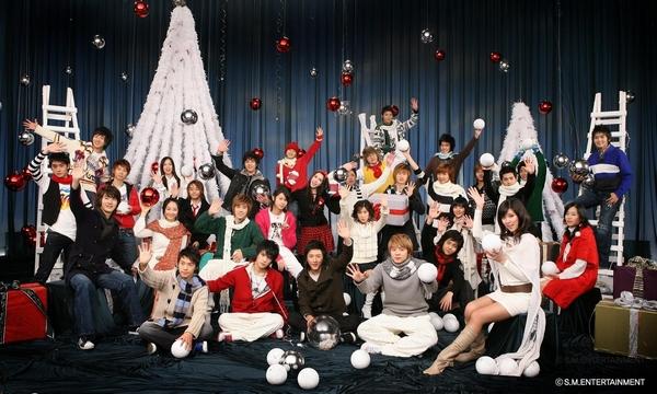 Tuyển tập các MV Giáng sinh gia đình của Kpop 1