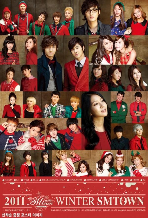 Tuyển tập các MV Giáng sinh gia đình của Kpop 5