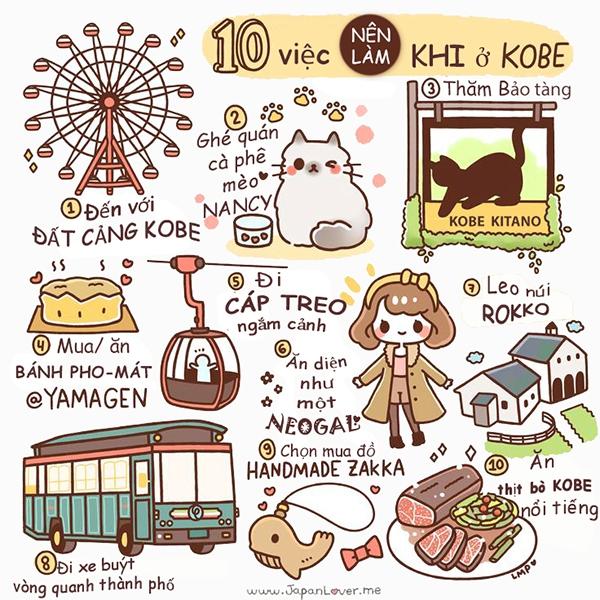 """Tranh vẽ """"nhất định phải biết"""" nếu muốn đi du lịch Nhật Bản 1"""