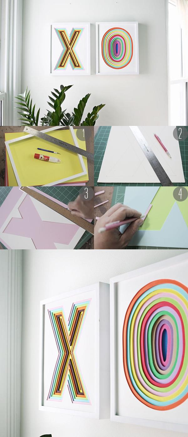 3 cách dễ dàng để làm tranh trang trí có 1-0-2 1
