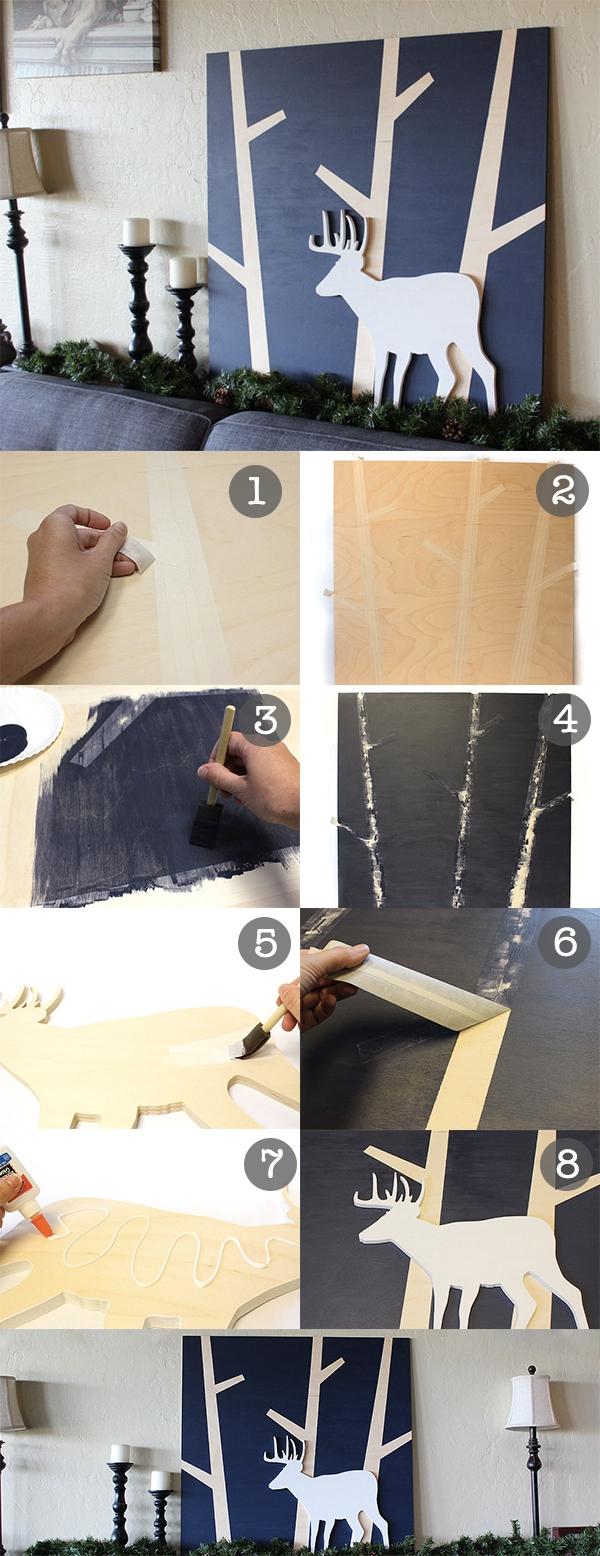3 cách dễ dàng để làm tranh trang trí có 1-0-2 2