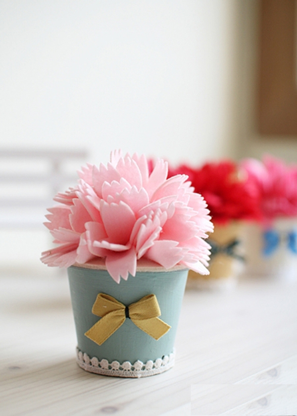 Căn phòng tươi tắn với bộ sưu tập chậu hoa xinh xinh 9