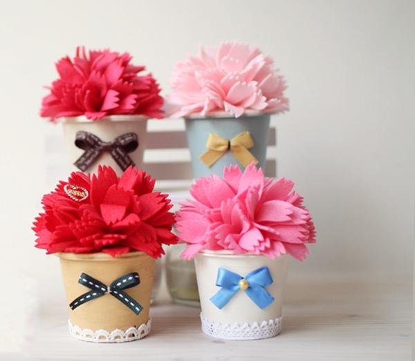 Căn phòng tươi tắn với bộ sưu tập chậu hoa xinh xinh 10