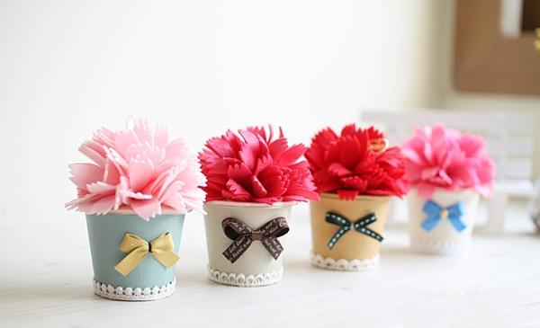 Căn phòng tươi tắn với bộ sưu tập chậu hoa xinh xinh 11