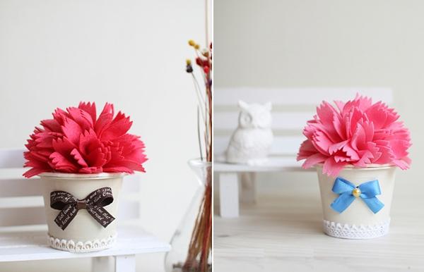 Căn phòng tươi tắn với bộ sưu tập chậu hoa xinh xinh 12