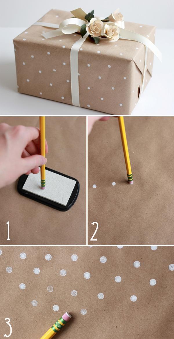 Tự chế giấy gói quà với 5 cách độc đáo và đơn giản 2
