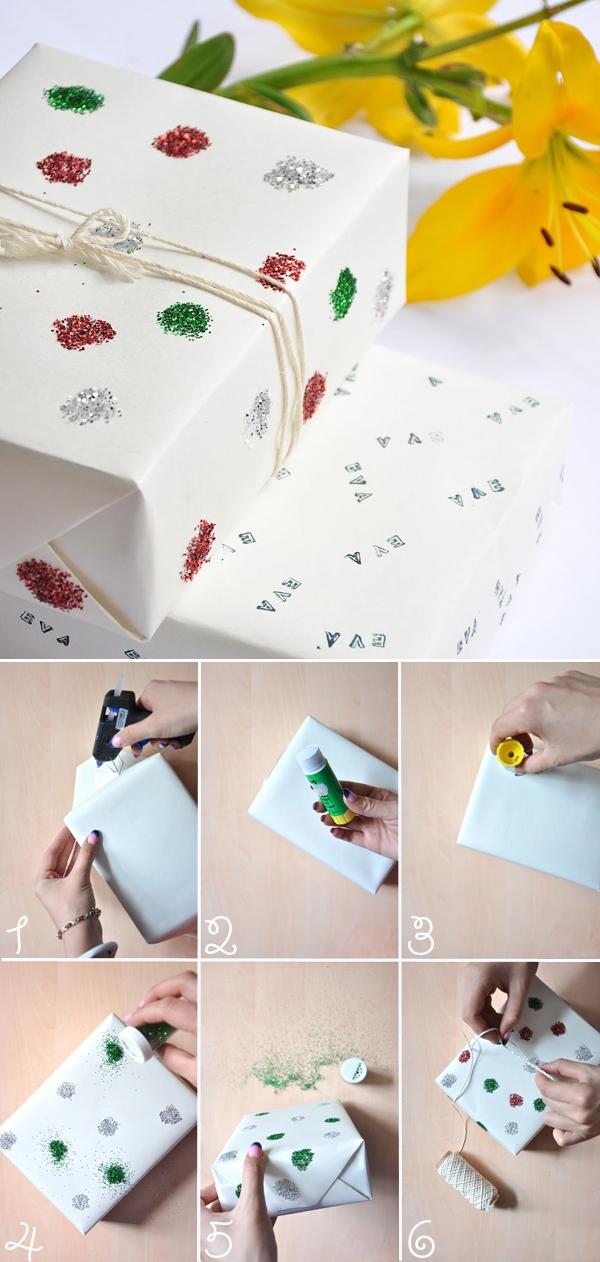 Tự chế giấy gói quà với 5 cách độc đáo và đơn giản 3