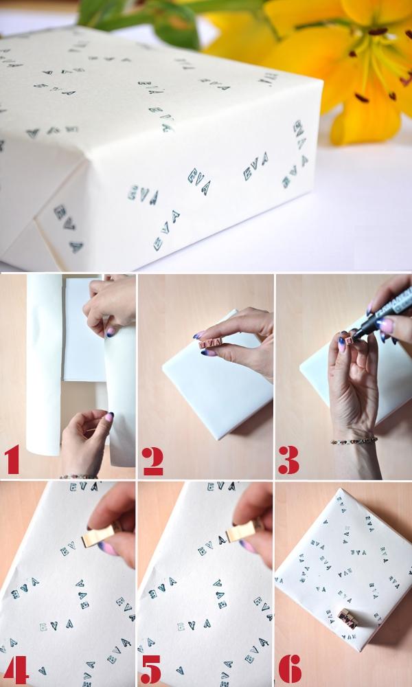 Tự chế giấy gói quà với 5 cách độc đáo và đơn giản 4