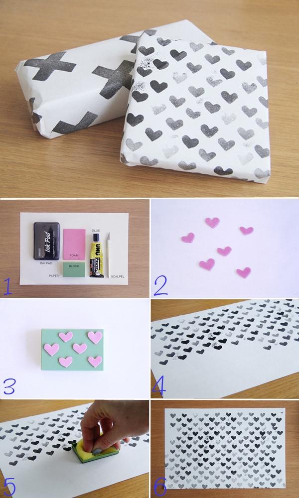 Tự chế giấy gói quà với 5 cách độc đáo và đơn giản 5