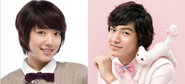 """Nếu Park Shin Hye làm """"em gái đẹp trai"""" của Lee Min Ho 5"""