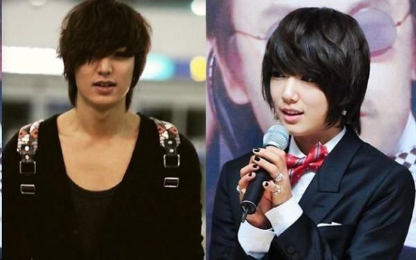 """Nếu Park Shin Hye làm """"em gái đẹp trai"""" của Lee Min Ho 4"""