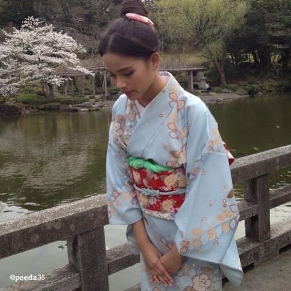 """""""Couple"""" đẹp nhất màn ảnh Thái tình tứ tại Nhật 11"""