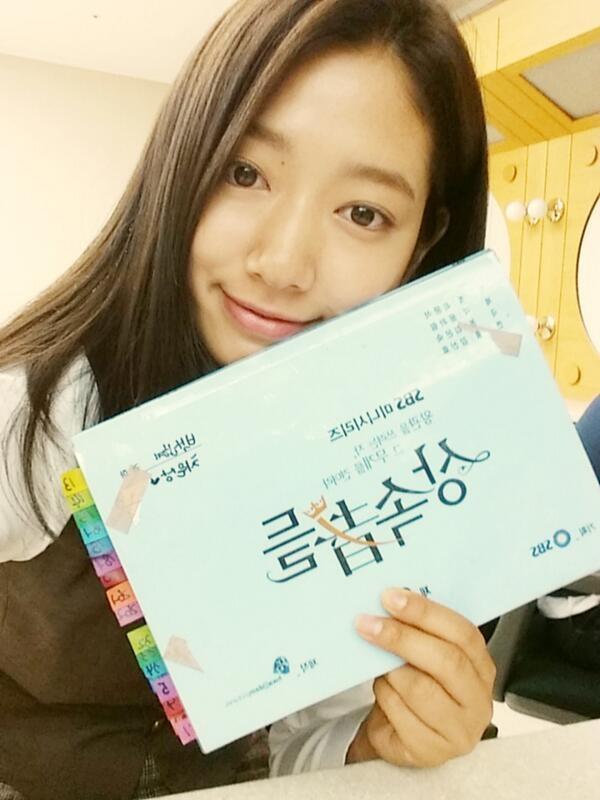 """Park Shin Hye cầm dĩa, định """"xử lý"""" Lee Min Ho 7"""