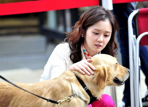 """Jang Nara mê cún cưng, lơ """"người yêu định mệnh"""" 1"""