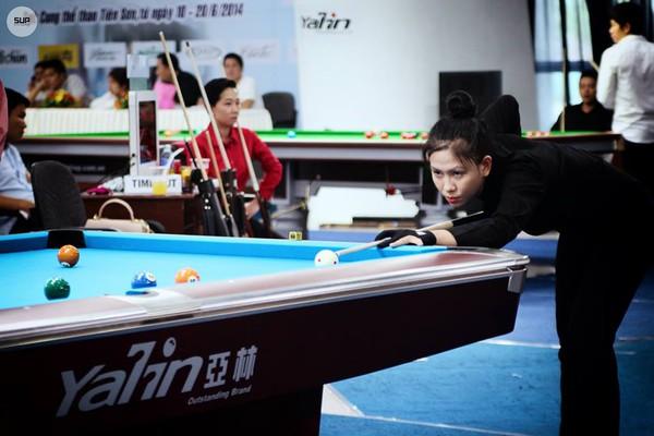 """Nữ cơ thủ xinh đẹp Bích Trâm: """"Con gái chơi Billiards có gì là sai"""" 5"""