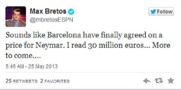 Santos đã chấp nhận bán Neymar cho Barca 2
