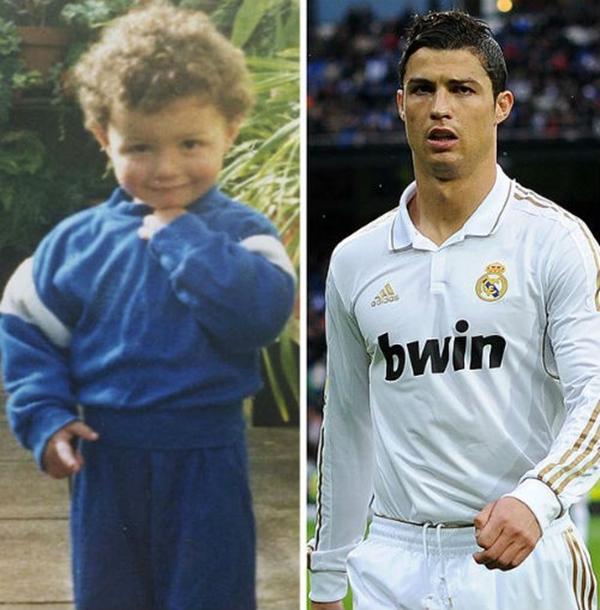 Những hình ảnh ngộ nghĩnh của sao bóng đá thời ấu thơ 30