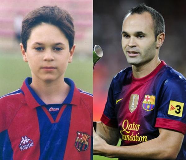 Những hình ảnh ngộ nghĩnh của sao bóng đá thời ấu thơ 31