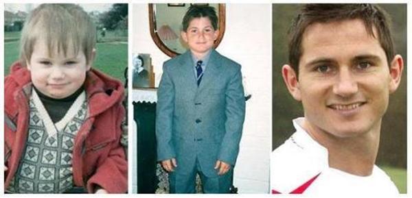 Những hình ảnh ngộ nghĩnh của sao bóng đá thời ấu thơ 24