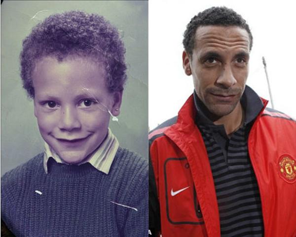Những hình ảnh ngộ nghĩnh của sao bóng đá thời ấu thơ 6