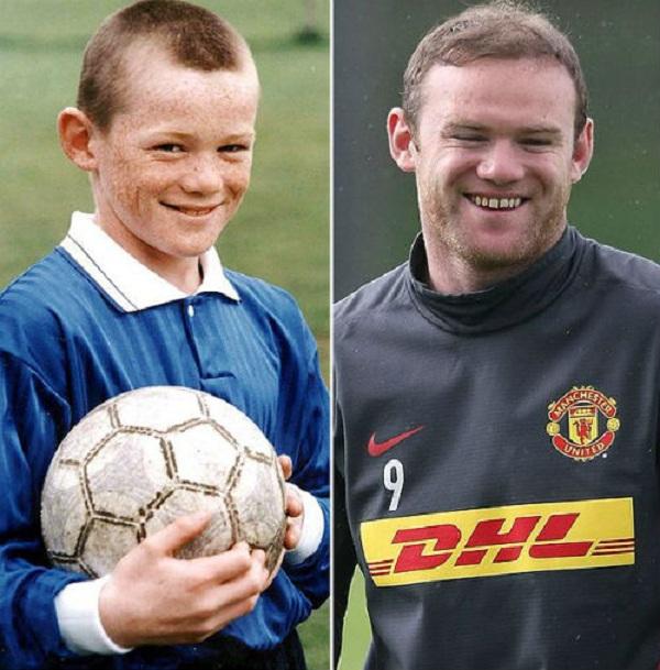 Những hình ảnh ngộ nghĩnh của sao bóng đá thời ấu thơ 29