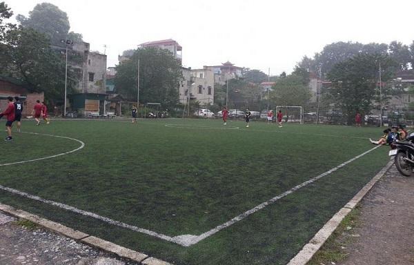 Hà Nội: Điểm danh các sân cỏ nhân tạo cho fan mê bóng đá (Phần 2) 4