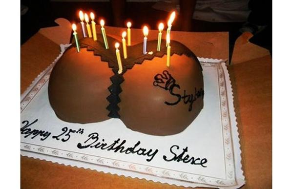 Loạt bánh sinh nhật hình cặp mông, con voi, xe đua... siêu độc của các sao thể thao 5