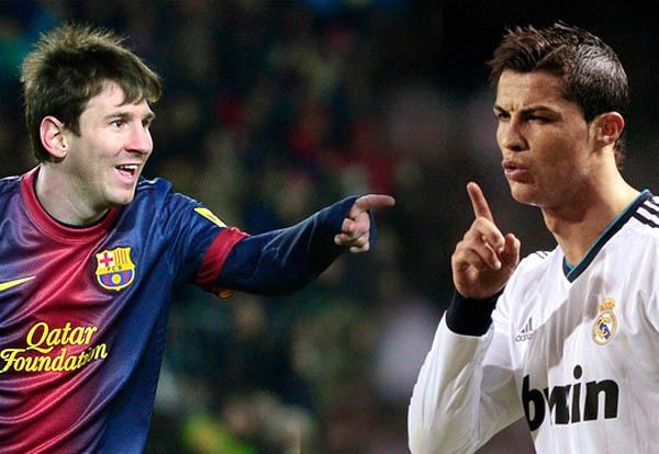"""Những con số thống kê """"ngoài hành tinh"""" của Messi và Ronaldo 1"""