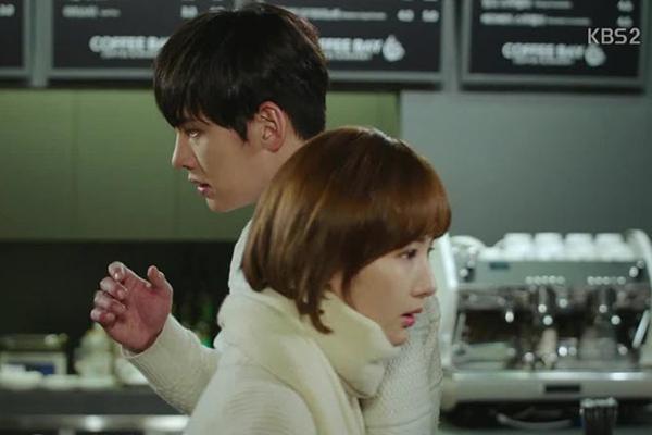 """""""Healer"""": Park Min Young muốn ôm hôn Ji Chang Wook 4"""