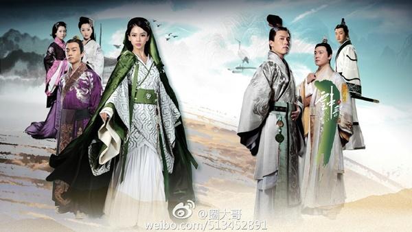 Phim truyền hình Hoa Ngữ 2015: Cổ trang thống trị, chuyển thể lên ngôi 10