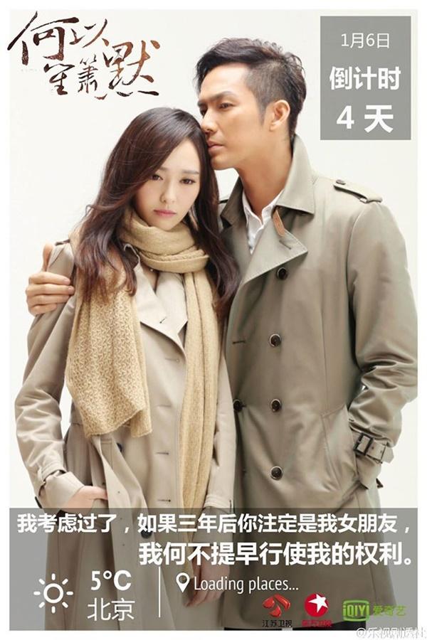 """Chung Hán Lương """"cưỡng hôn"""" Đường Yên trong họp báo """"Bên Nhau Trọn Đời"""" 5"""