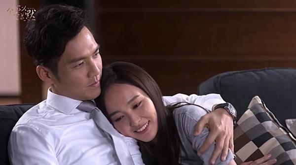 """Chung Hán Lương hạnh phúc ôm """"bà bầu"""" Đường Yên 1"""
