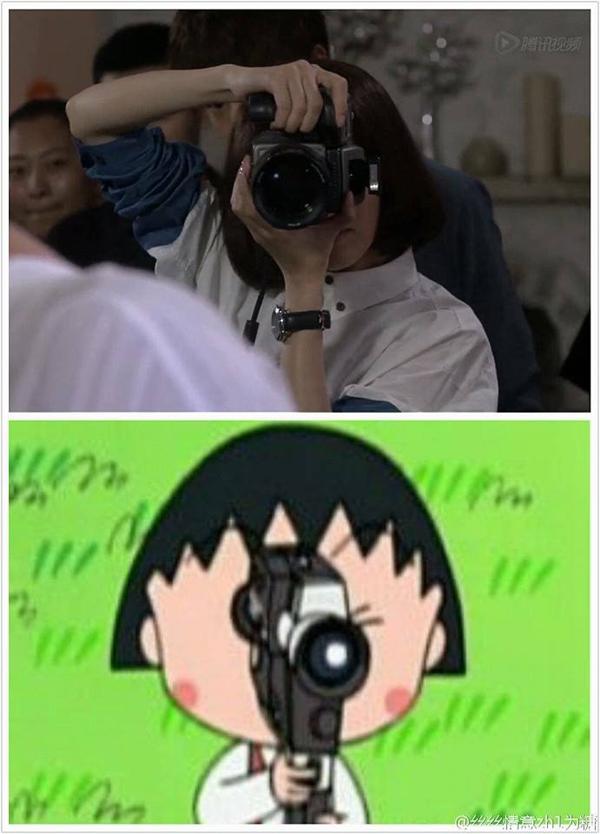 Fan thích thú so sánh hình ảnh Mặc Sênh (Đường Yên) với Nhóc Maruko 3