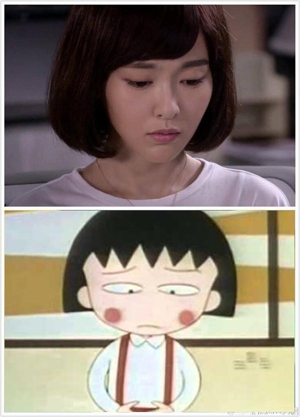 Fan thích thú so sánh hình ảnh Mặc Sênh (Đường Yên) với Nhóc Maruko 5