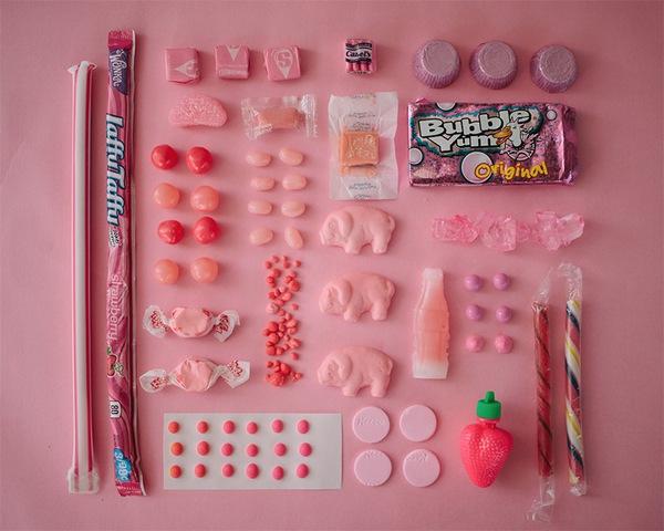 Chảy nước miếng với bộ ảnh màu sắc thể hiện qua kẹo ngọt 3