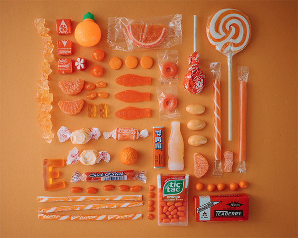 Chảy nước miếng với bộ ảnh màu sắc thể hiện qua kẹo ngọt 4