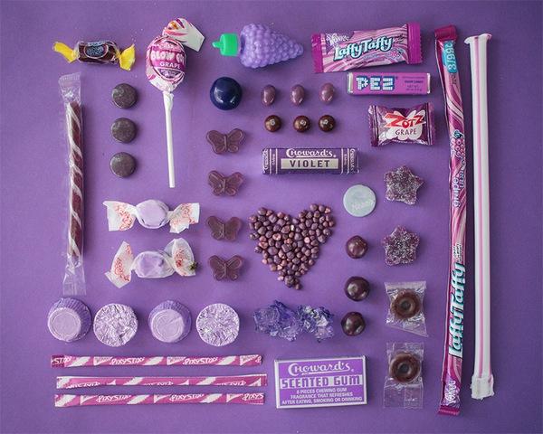 Chảy nước miếng với bộ ảnh màu sắc thể hiện qua kẹo ngọt 8