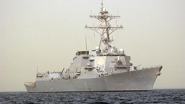 Clip: Xem tàu chiến đánh võng tốc độ cao giữa đại dương 1