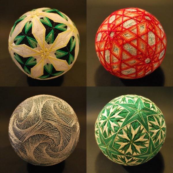 Bộ sưu tập những quả bóng đan bằng tay tinh xảo được làm bởi bà cụ 92 tuổi 2