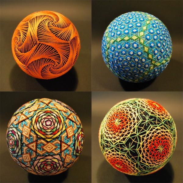 Bộ sưu tập những quả bóng đan bằng tay tinh xảo được làm bởi bà cụ 92 tuổi 3