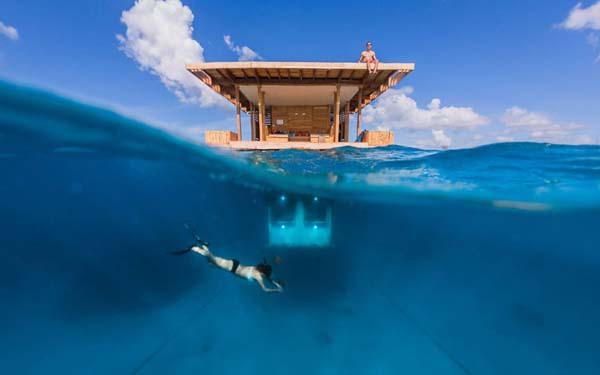 Thích thú ngắm nhìn biển cả với căn phòng chìm dưới lòng đại dương 1